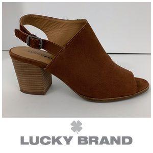 "Lucky Brand ""Obelia"" Slingback Bootie"